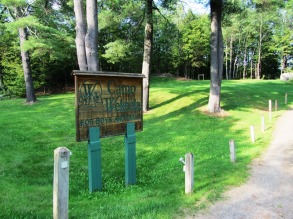 """Sign: """"Camp Wekeela for Boys and Girls"""" from Route 219 in Hartford"""