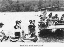 Mickey and Minnie Boat Parade